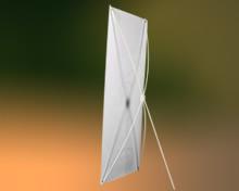 分体式X架(黑色,半透明)
